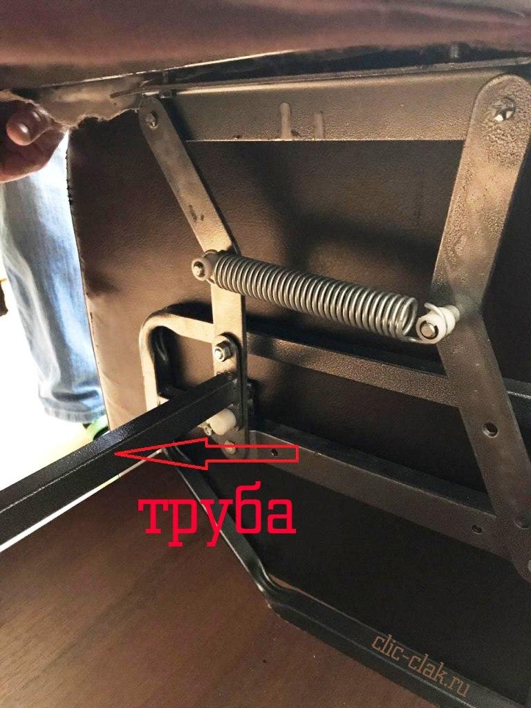 Механизм Тик-так 343 H большой купить с трубой для дивана тик так 579 Шагающий 600 мм