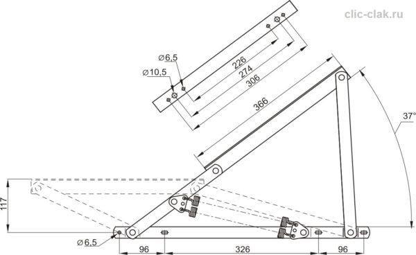 Купить механизм подъема матраца тахты фото цена размеры №546 ОЗМФ
