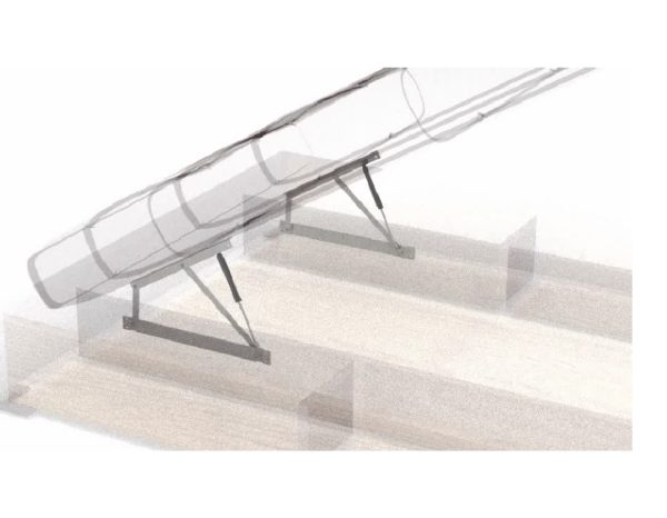 купить подъемный механизм для кровати с газ-лифтами, дивана или тахты ОЗМФ Комкор МПК № 500 559 503